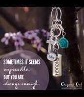 We are always Enough:  Love our Tagged Line of Product