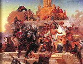 Who killed the Aztecs