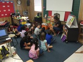 Ms. Cormack Teaches Ms. Torres's 1st Graders Spanish!