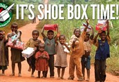 It's shoe box time- Please stop by and give us a hand!