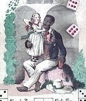Girl with Uncle Tom