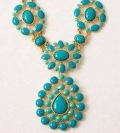 Charlize Bib Necklace