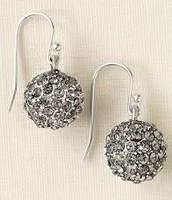 Soiree Drop Silver Earrings $15.00