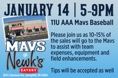 January 14 - Newk's Fundraiser