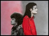Michael Jackson kid and adult