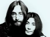 Yoko and John Lennon