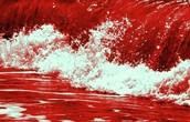 All the blood on Macbeth's hands can turn the ocean red