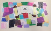 """Torah """"Stained Glass"""" Art Project"""