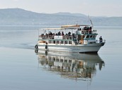 sailing in the Kinneret