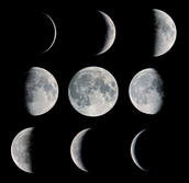 Why do moon phases wax and wan and what are they?