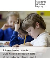 Information for parents: 2016 national curriculum tests at the end of key stages 1 and 2