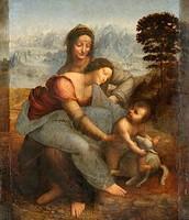 La Virgen, el Niño Jesús y Santa Ana