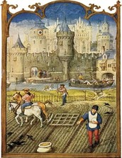 4. Serfs suffered from famines. Plague outbreaks depleted the livestock. Frosts, floods, and droughts destroyed the crops. Bursts of warfare ravaged the countryside as the lords burned each other's fields and harvests. (Britannica.com)