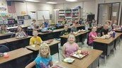 August Homework Club Lunch
