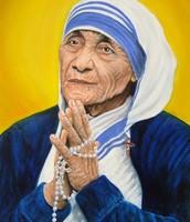 Mother Teresa Praying