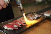 Special beef, Wagyu Sushi