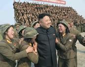 המנהיג קים ג'ונג און