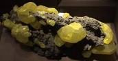sulfur in rock