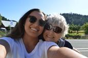 Oregon with grandmother