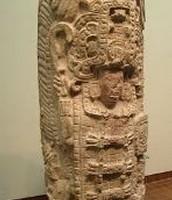 a maya skulpture