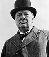 A picture of Winston Churchill