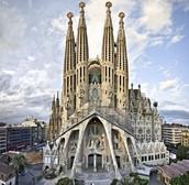 La Sagrada Familia church