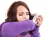 Cough and sneeze into your sleeve. THE SPREAD OF THE FLU IS UP TO YOU!!