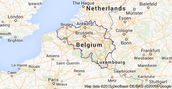This is where Belgium is on a map
