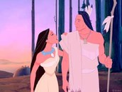 Pocahontas and her father