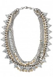 Sutton Necklace- Mixed Metal **SOLD**