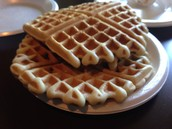 Actual Waffles from Waffle Time