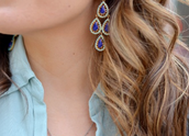 Seychelles Chandeliers in Blue $22!