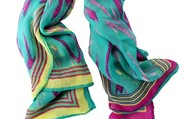 Palm Springs Scarf- Turquoise
