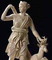 Artemis and a Stag