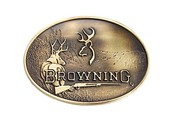 Browning Buckmark Deer Belt Buckle