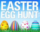 Sugar Grove's Annual Easter Egg Hunt, Sat. March 28th from 10 a.m. - 12 p.m.