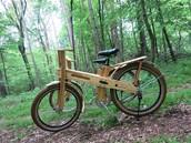 Fajn Bicikl is made from Slovenian wood.