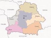 Belarus Regional Map