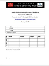 12 - Weekly Accountability Worksheet
