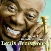Louis Armstrong was famous for: