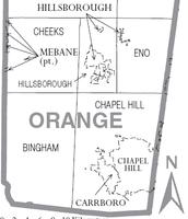 Layout of Orange County