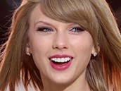 Taylor swift is really happy