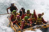 Rafting In Lapland Finland