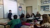 שיעור תרבות ישראל בכיתה ז' 5