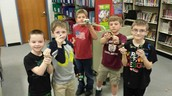 Second graders love Lego club!