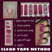 Clear Tape Method