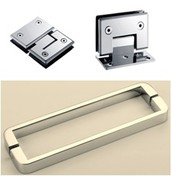shower door fittings and hardware