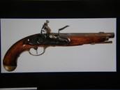 Flintrock pistols