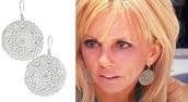 Jasmine Filigree Earrings Silver Reg $59 -50% sale $30