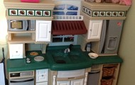 Kitchen in our play room